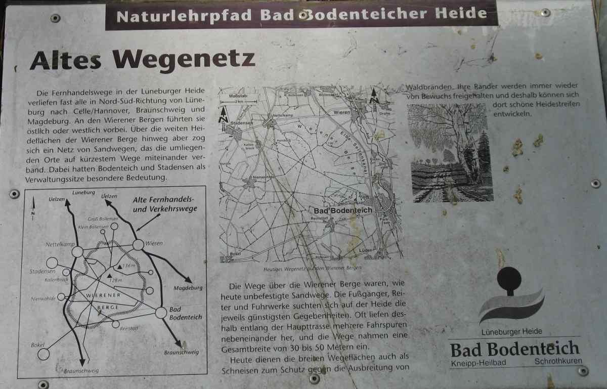 Altes Wegenetz