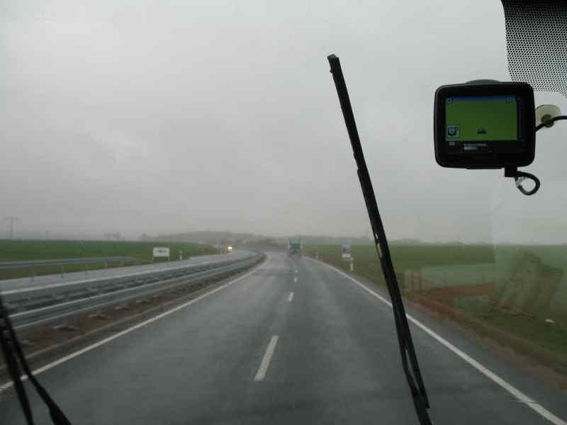 Den ganzen Tag Regenwetter
