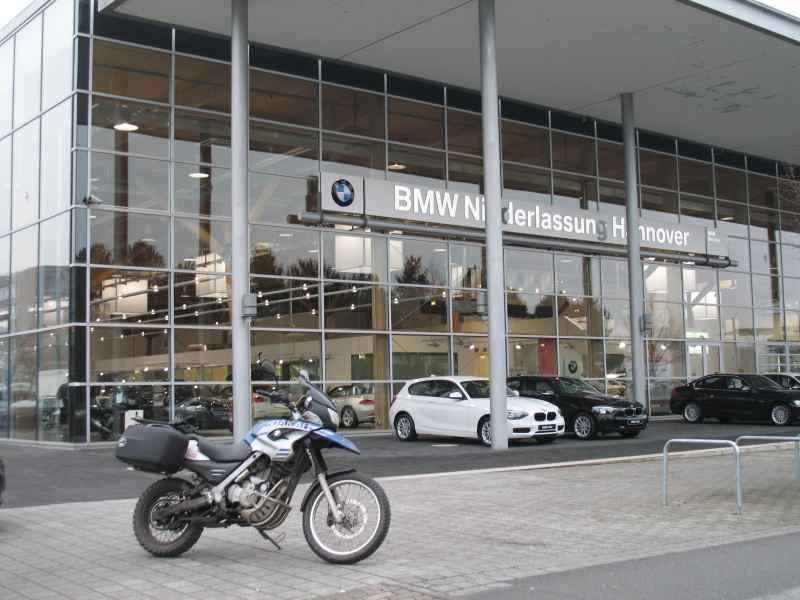 BMW Glaspalast auf dem Expo-Gelände