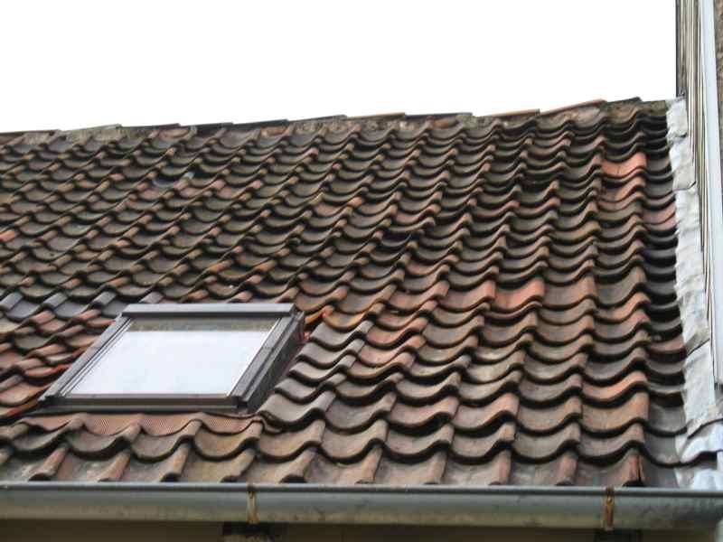 Dach repariert