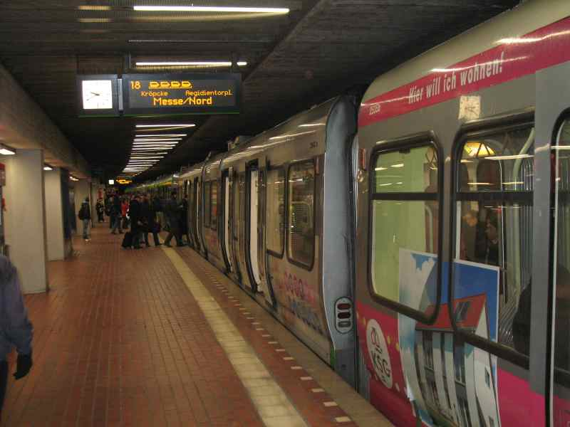 4-Wagen Zug