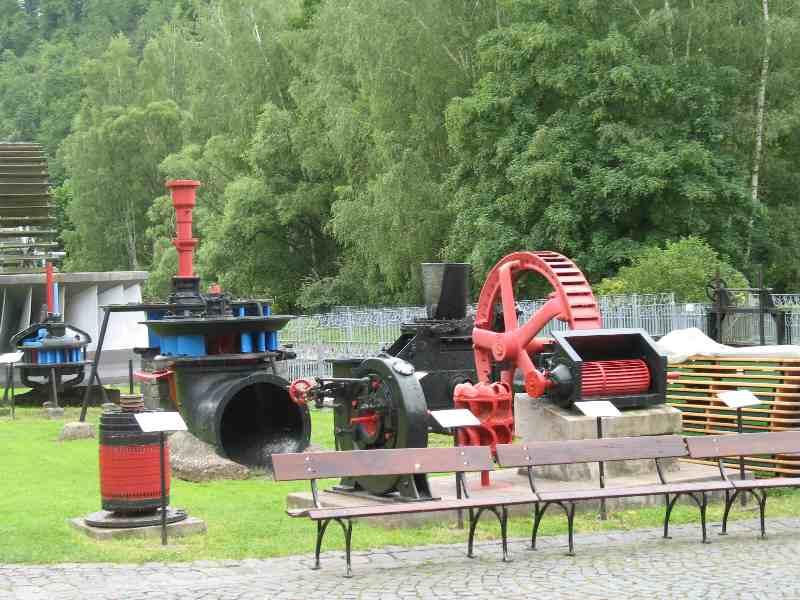 Wasserkraftmuseum an der Saale
