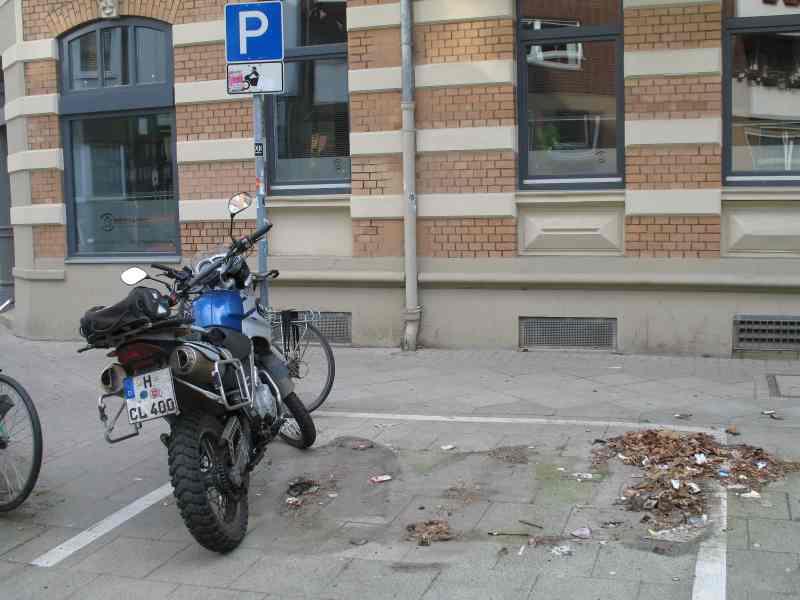 Kälbchenparkplatz