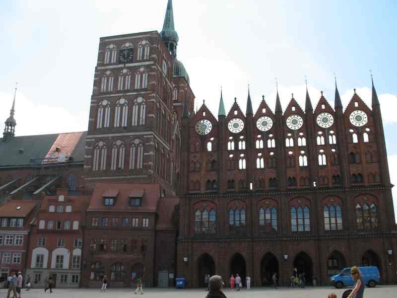 Alter Markt mit Rathaus