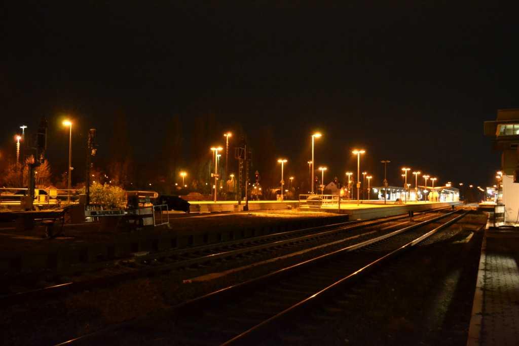 Euskirchen am Bahnsteig