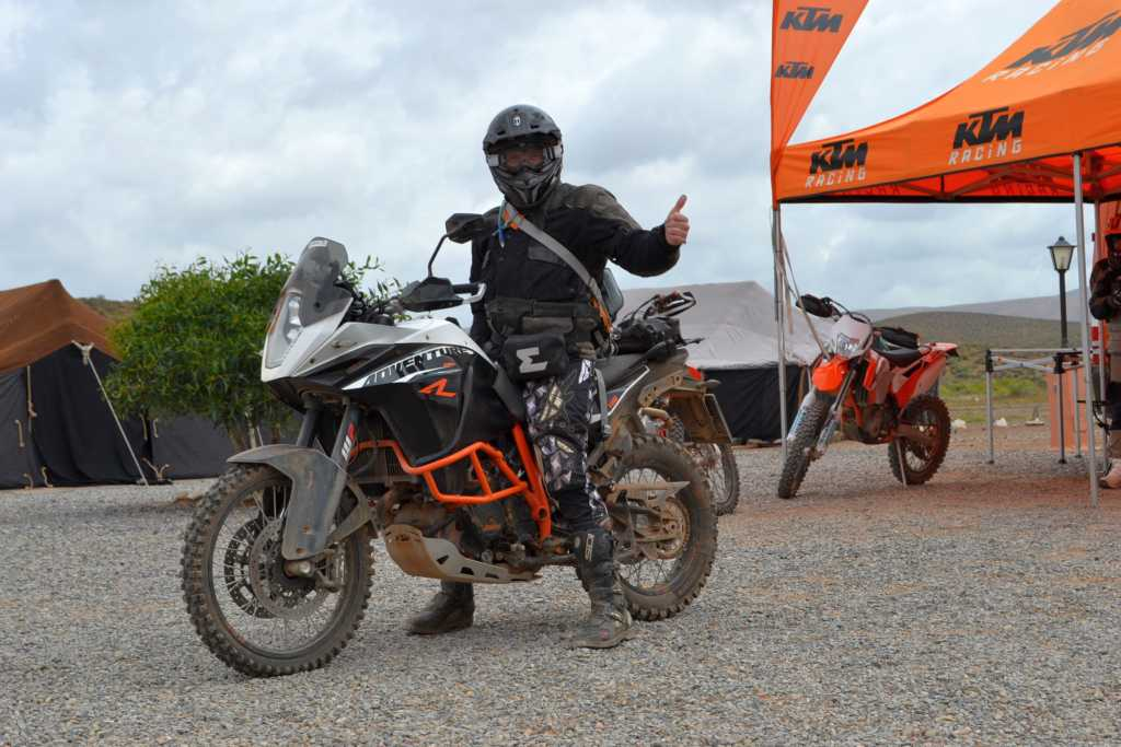 Probefahrt mit der KTM 1190 Adventure R