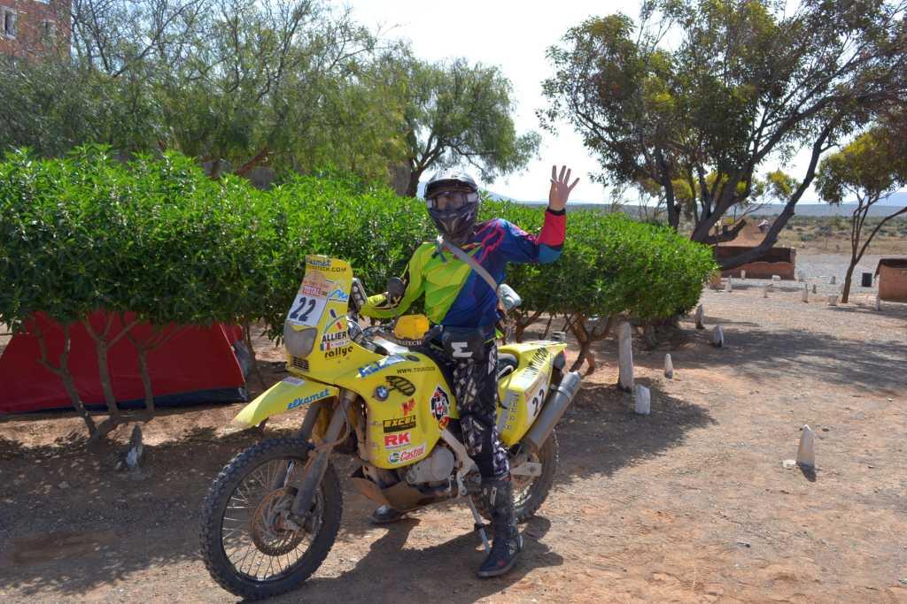 Rally Dakar Maschine von 2002