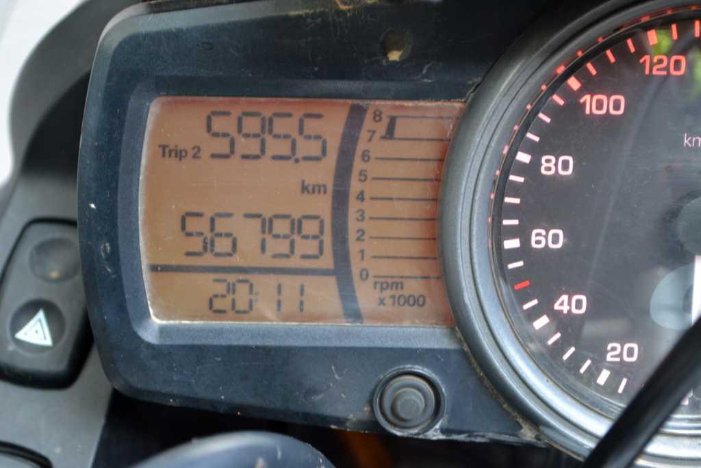 600km geschafft