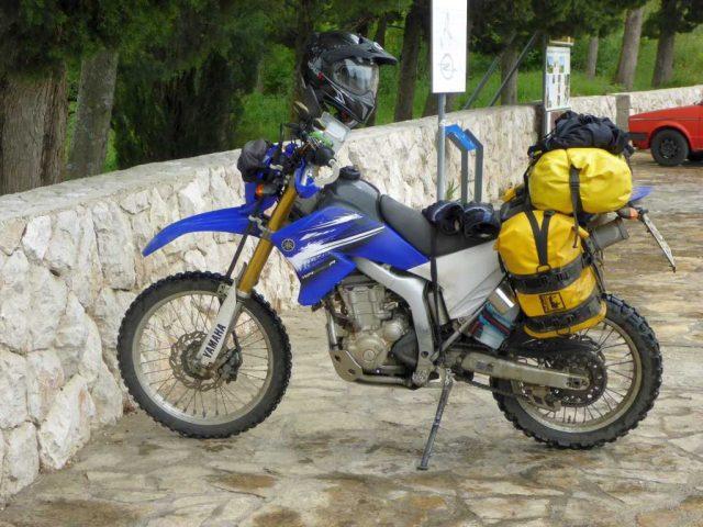 das kleine nervöse Motorrad