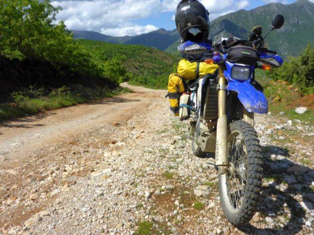 100km vor Elbasan