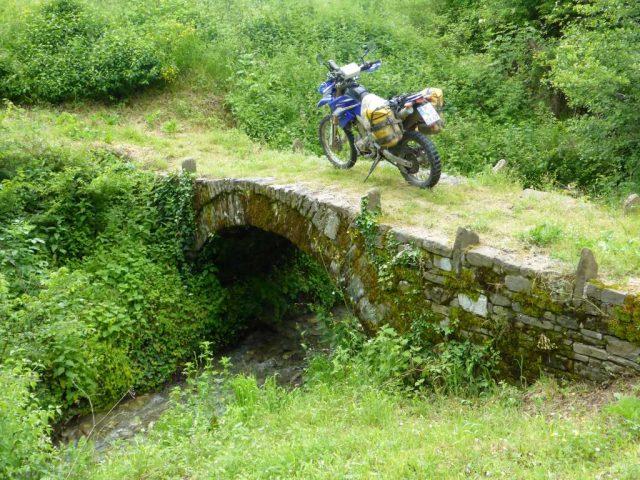 antike Steinbrücke