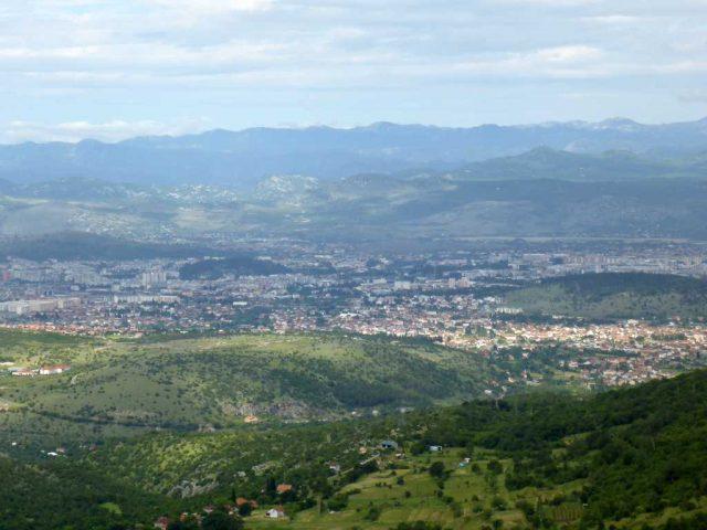 Aussichtspunkt auf Podgorica