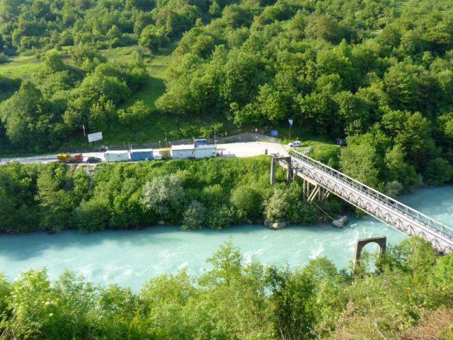 Die Grenze nach Bosnien-Herzegowina