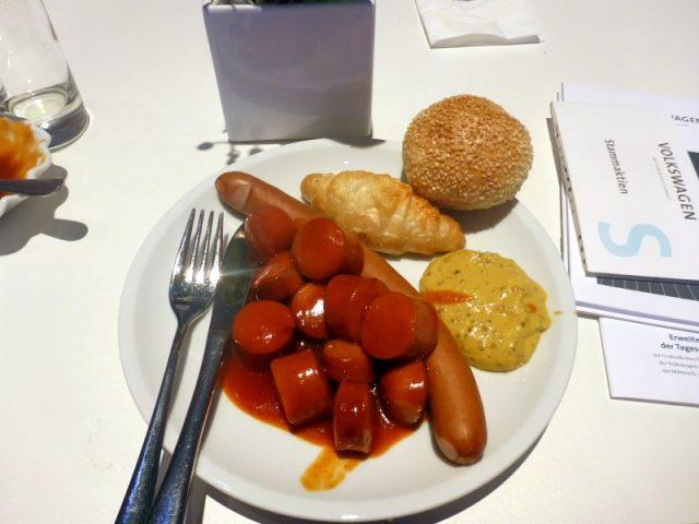 Currywurstverkostung