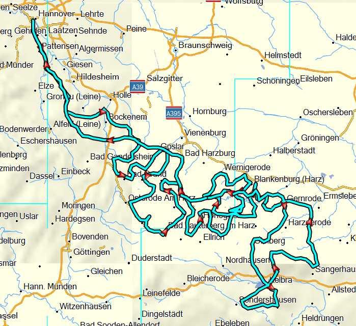Harz-komplett Tour