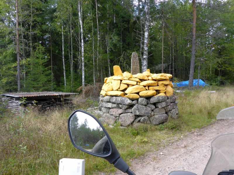 Grenze nach Norwegen