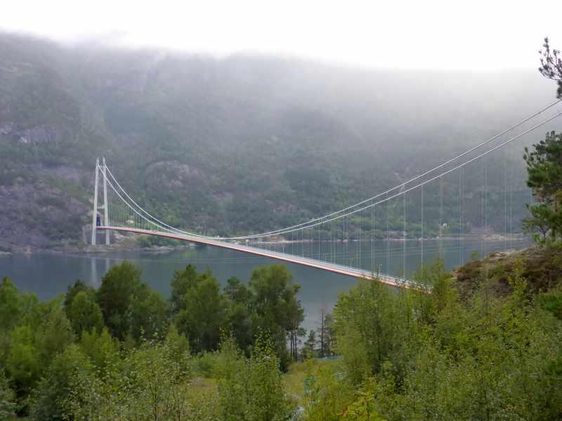 Hardangerfjord-Brücke