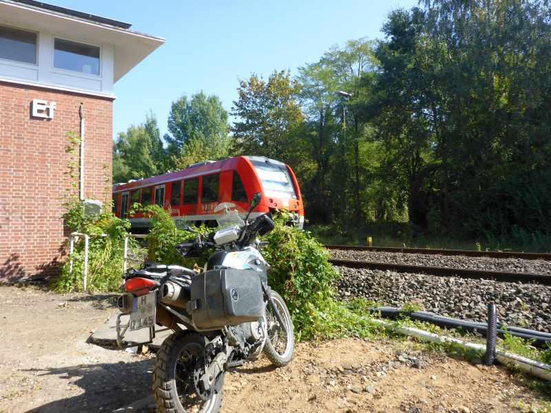 Züge kucken