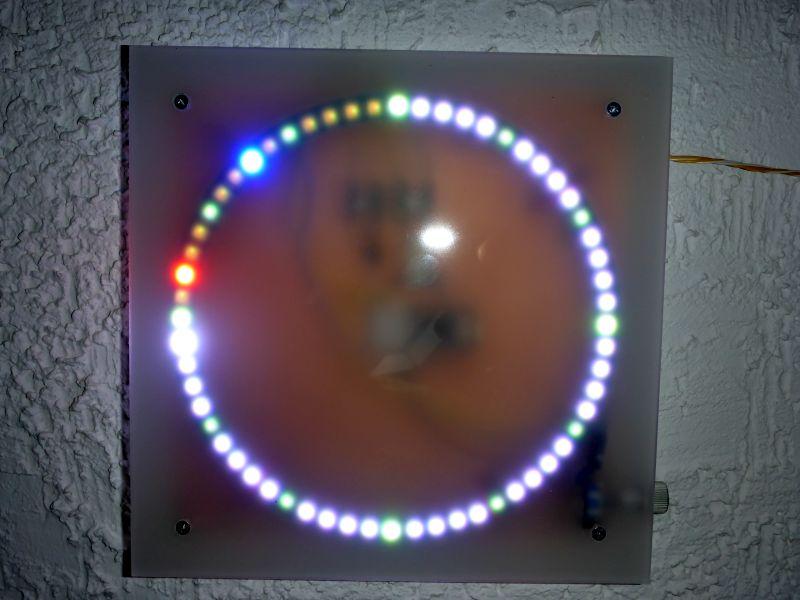 Neo Pixel LED-Uhr