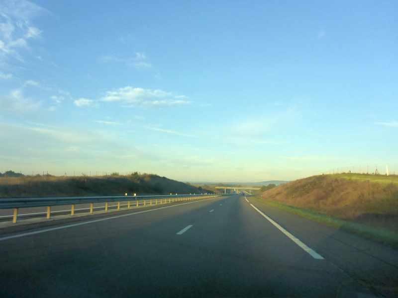 französische Autobahn