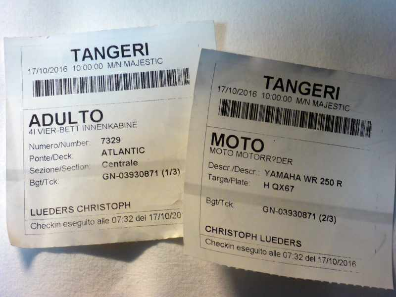 Marokko 2016 tag 3 4 sete bis ma tanger med clmt for Ticket nador