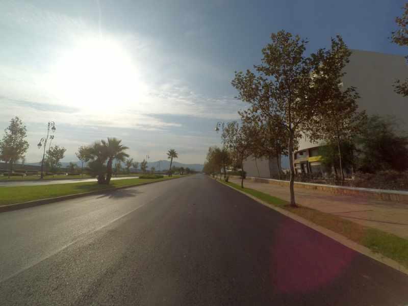gepflegte Straßen