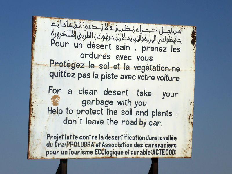 Schütze deine Wüste