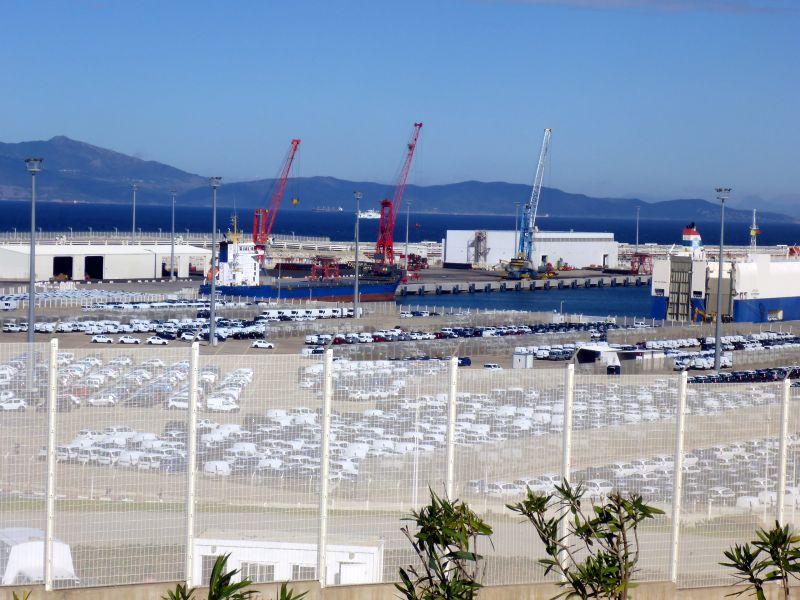 Hafen Tanger Med.