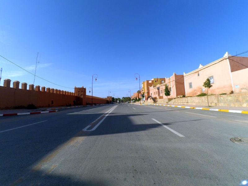 Ausfahrt aus Tinerhir