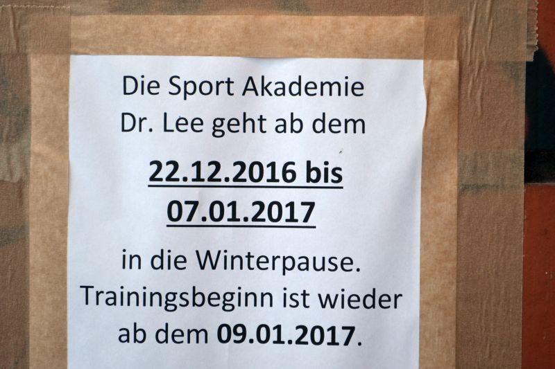 Sport Akademie Lee