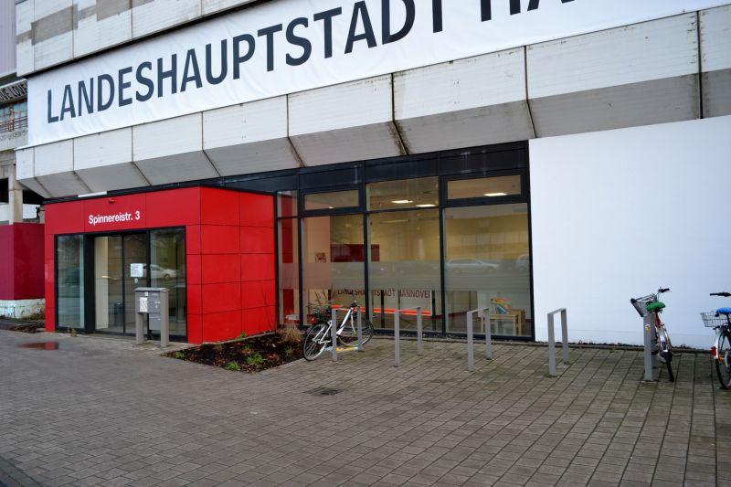 Eingangsbereich Stadt Hannover