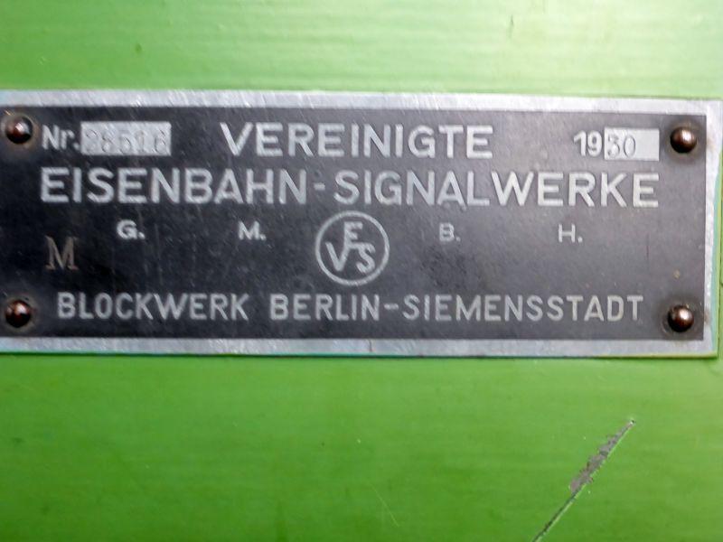 Vereinigte Eisenbahn Signalwerke Berlin-Siemensstadt