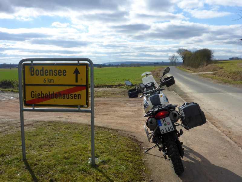 Bodensee ist nicht mehr weit