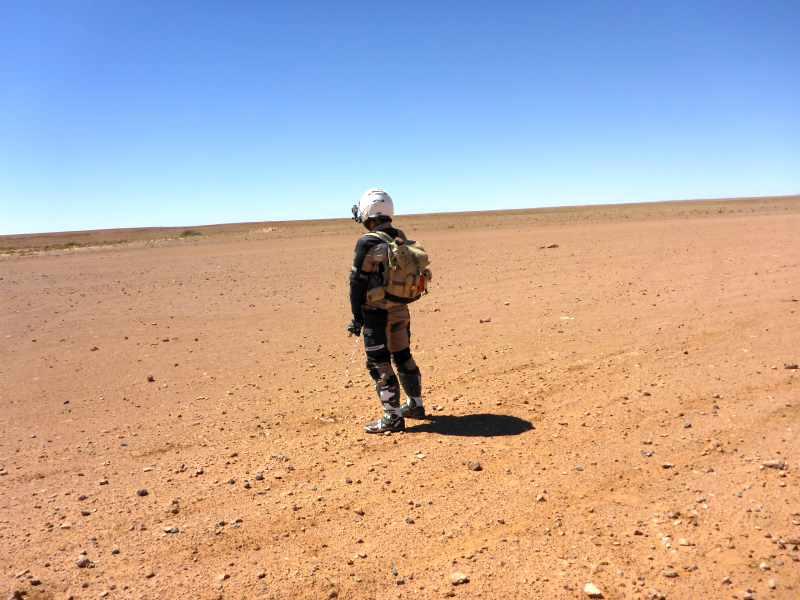 Bewässerung der Wüste