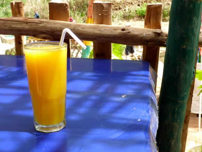 frisch gepreßter Orangensaft