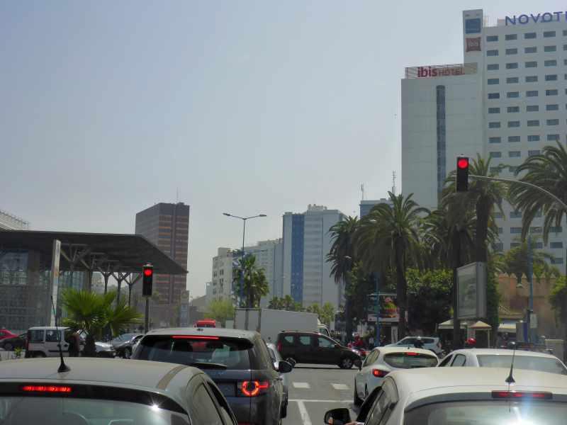 Großstadtdschungel von Casablanca