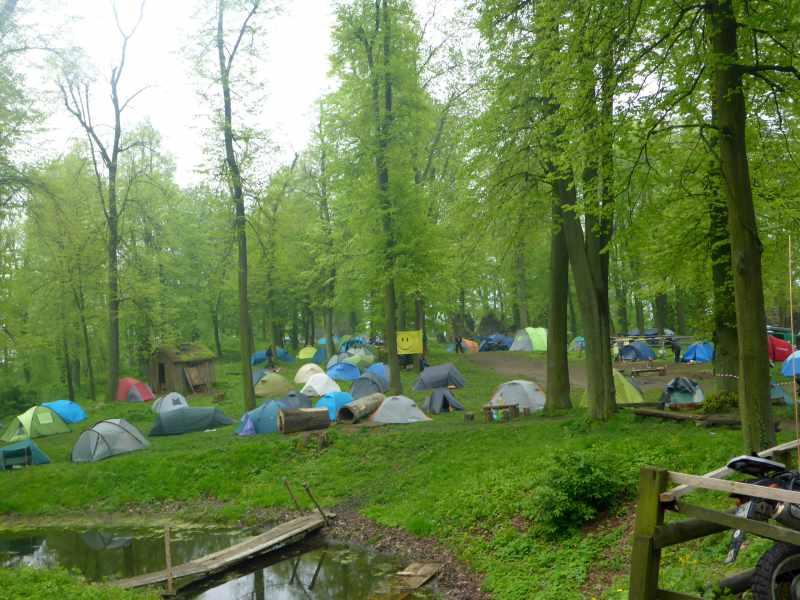 Campingfläche