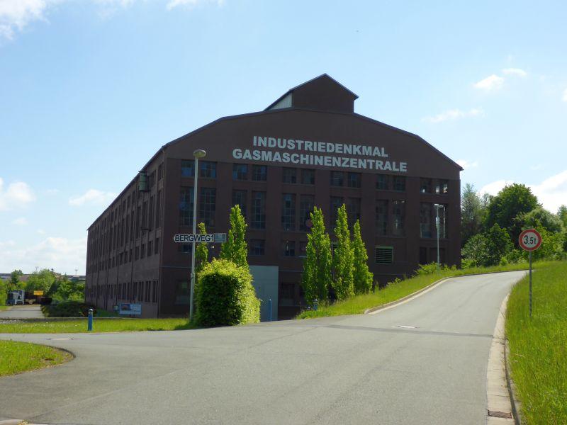Gasmaschinenzentrale der Eisenwerkgesellschaft Maximilianshütte Unterwellenborn