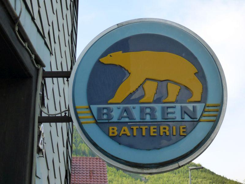 Bären Batterie