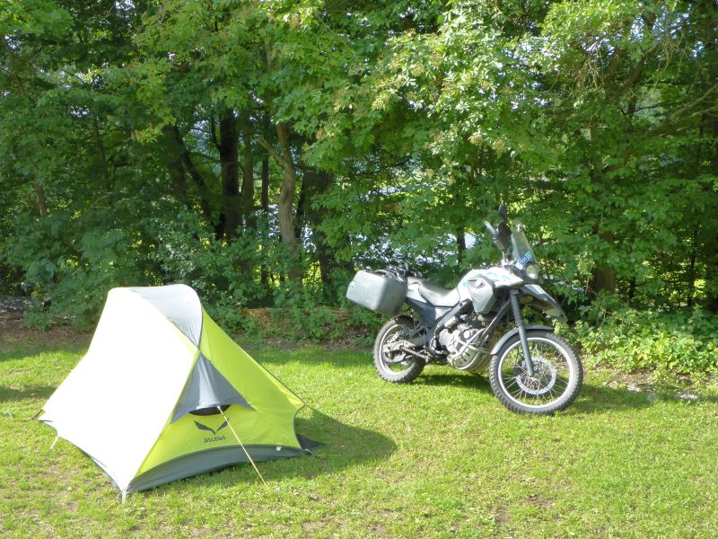 Platz fürs Zelt
