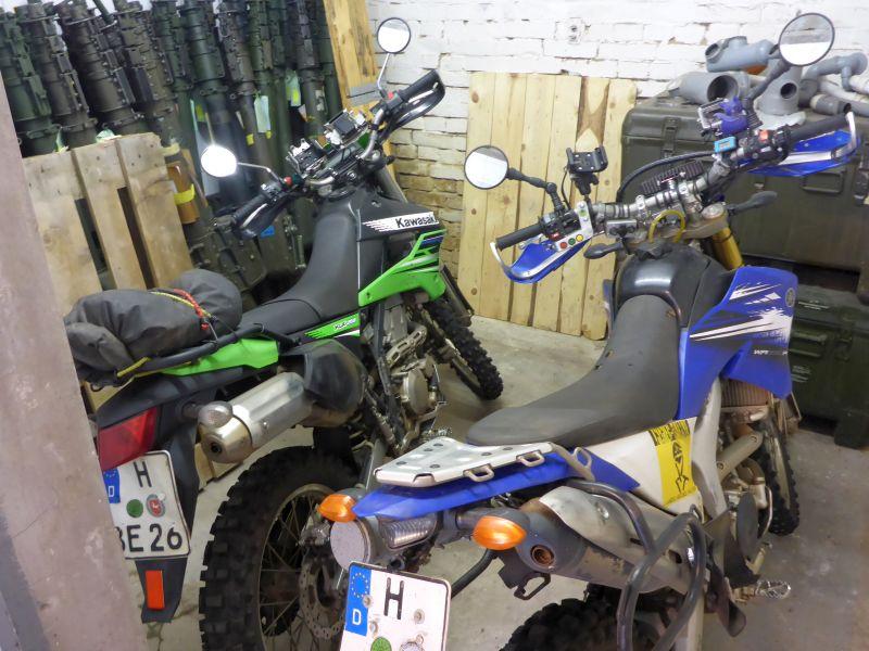 Kawa und das kleine nervöse Motorrad