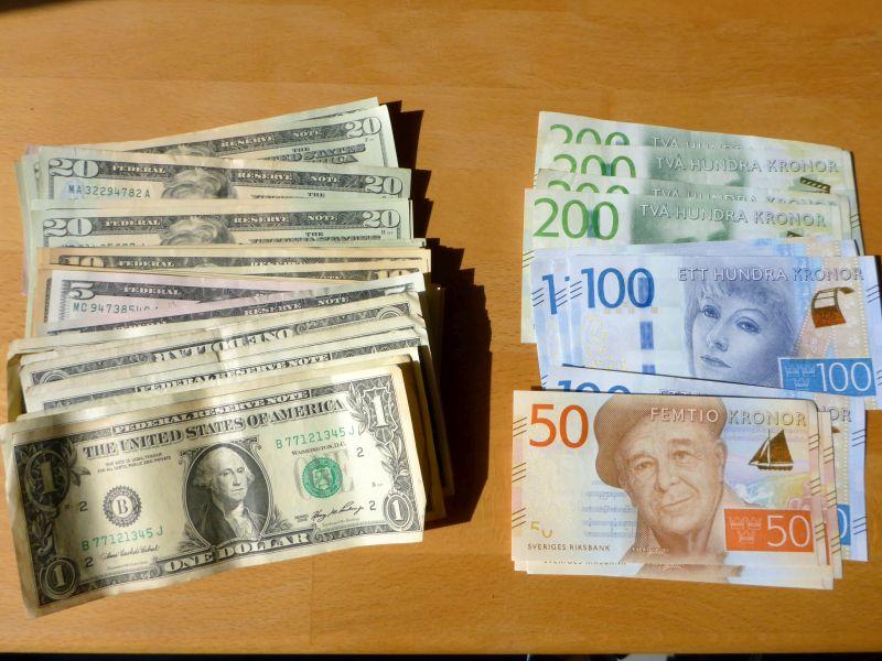 USD und SEK