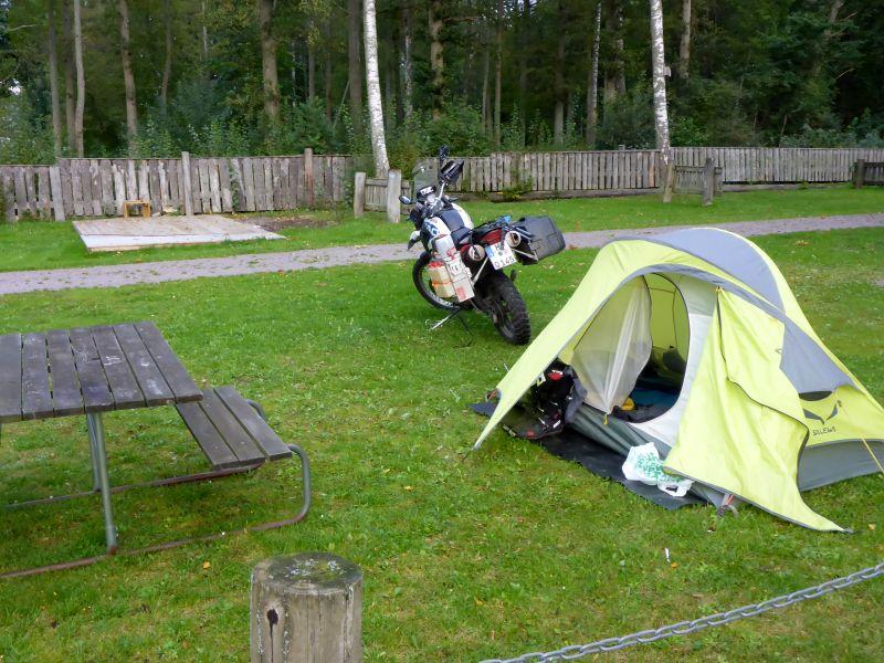 Campingplatz in Borensberg