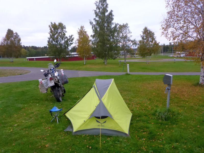 Campingplatz in Strömsund