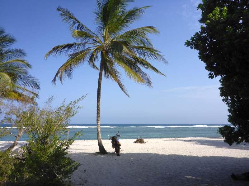 Schau! Der indische Ozean!