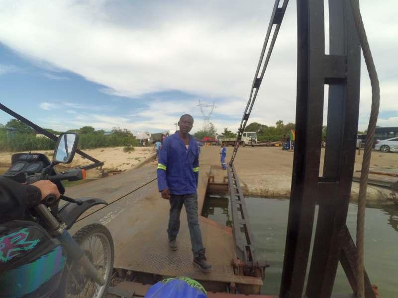 Anlegemanöver in Sambia