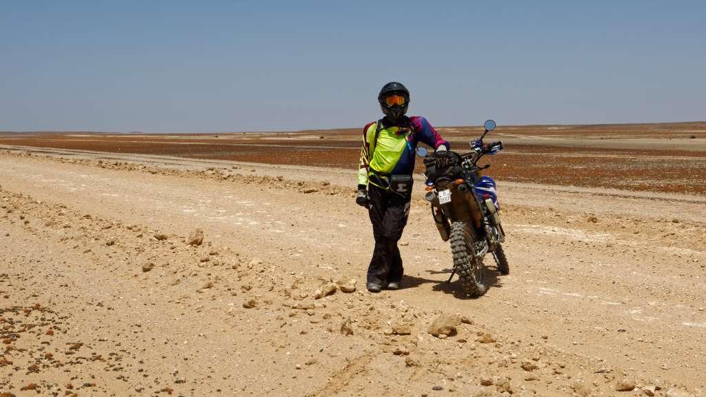 Namibische Gravel Road