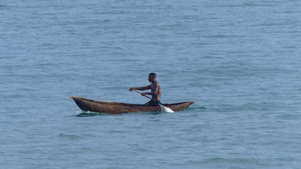 Fischer auf dem Lake Malawi
