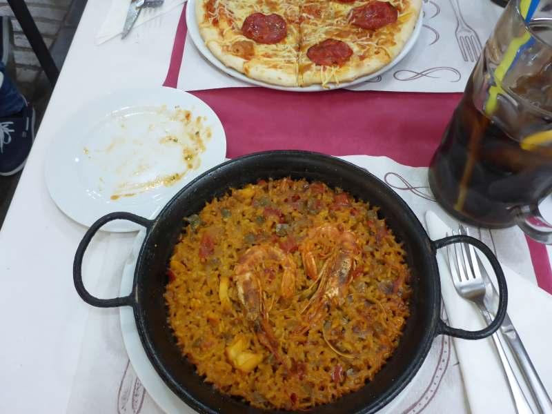 Tapas + Paella