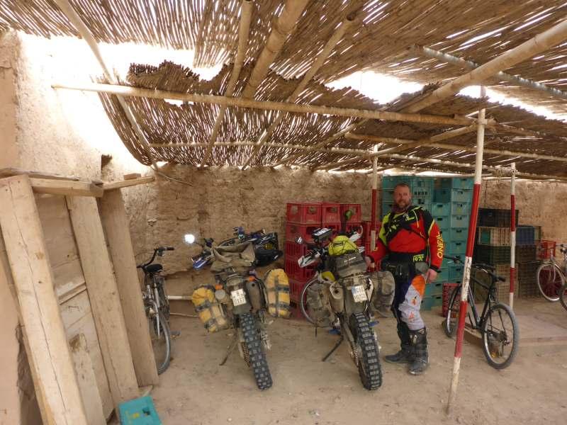 Garage typisch afrikanisch